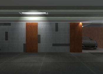 Underground Parking Area 002