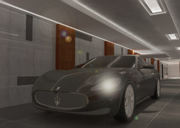 Underground Parking Area 001